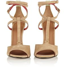 Marzia suede and leather sandals