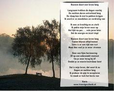 www.troostgeschenk.nl  Rouwen duurt een leven lang... Het is niet te meten in tijd.. Het gevoel van gemis, duurt een eeuwigheid.