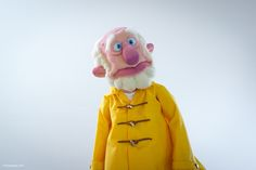 Character design by Furry Puppet studio.