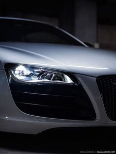 Audi #car #white