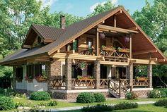 Дом в стиле шале CHL-14-06  мини