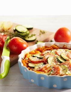 Überbackenes Mediterranes Gemüse  #hochland #käse #rezept #ofenaufstrich #recipe  #veggies