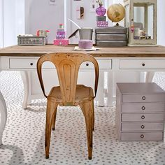 Animal Print Cheetah Leapord Spots Floor Stencils on Painted Patterned Floor - Royal Design Studio