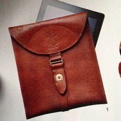 Orvis.com leather iPad case