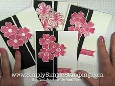 ▶ Simply Simple FLASH CARDS 2.0 - Flower Shop Thank You by Connie Stewart - YouTube
