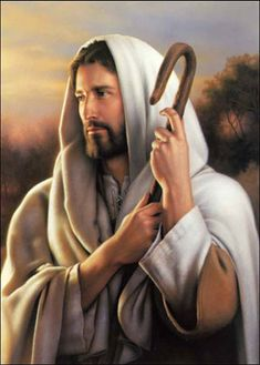 Collection of pictures of Jesus Christ. The life story of Jesus Christ illustrated with beautiful animations Pictures Of Jesus Christ, Religious Pictures, Lds Pictures, Religious Art, Lord Is My Shepherd, The Good Shepherd, Image Jesus, Lds Art, Jesus Face