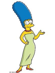 The Simpsons - Marge Simpson.the perfect wife! Simpsons Tattoo, Simpsons Drawings, Marge Simpson Sisters, Homer Jay Simpson, Cartoon Cartoon, Los Simsons, Simpson Wallpaper Iphone, Tv Moms, Simpsons Characters