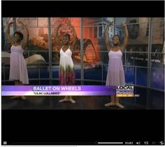 Ballet On Wheels Performance on Local abc24 News Memphis