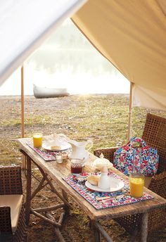 Dine beneath the stars with Summer Cottage