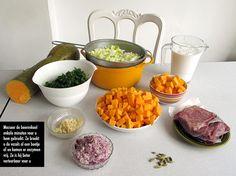 Kantien Karolien - Pumpkin curry with grassfed beef and kale