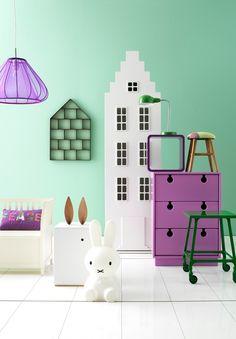 #Déco mobilier violet | Annika Kampmann