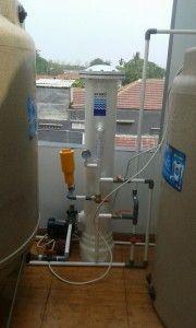 Filter Penyaring Air Sumur HYDRO di Kediaman Bapak Erianto, Jakarta.