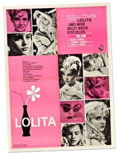 designed for Stanley Kubrick's Lolita / 1962.