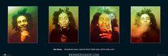 Bob Marley 4-luik Joint