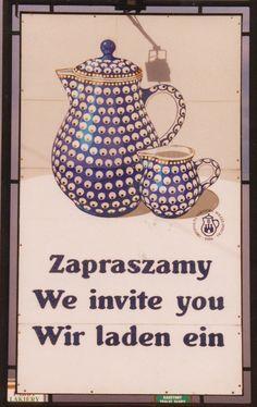 Polish Pottery in Boleslawiec, Poland