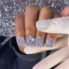 Birthday Nails, 13 Birthday, Short Square Acrylic Nails, Sassy Nails, Glamour Nails, Exotic Nails, Nail Length, Fire Nails, Oval Nails