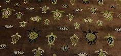 DONGHIA Snappy Jacquard Turtle Torpedo Brown Velvet Fabric Remnant 44 x 51W | eBay