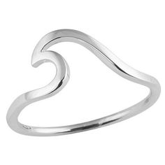 Epic Wave Ring  Sterling Silver | $29.99 :: Online now :: http://ift.tt/1GqdATg