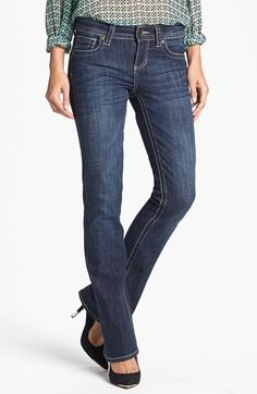 KUT from the Kloth 'Natalie' Bootcut Jeans (Regular & Tall) (Care) available at #Nordstrom