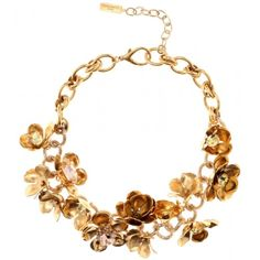 Margaery Tyrell - Crystal floral necklace
