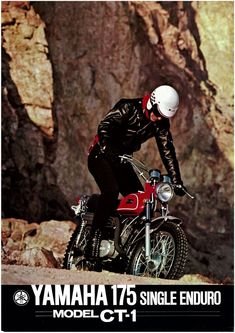 Read up on just a few of my most favorite builds - distinctive scrambler motorcycles like Trail Motorcycle, Motorcycle Posters, Motocross Bikes, Scrambler Motorcycle, Dt Yamaha, Yamaha Sr400, Yamaha Motorcycles, Vintage Bikes, Vintage Motorcycles