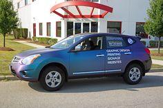 Graphic Alliance Carbon Fiber Vehicle Wrap