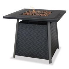 Blue Rhino GAD1325SP UniFlame® LP Gas Outdoor Fire Bowl with Lava Rock (ATG_GAD1325SP)
