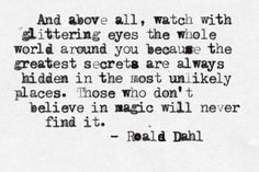 one of my favourite quotes | via milky way