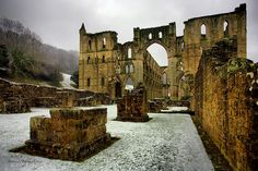 Rievaulx Abbey, Ruins