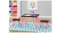 Look what we found: Altra Retro Kids Table & Stool Set