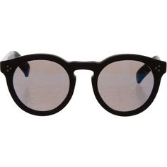 9c99b79ce65 Pre-owned Illesteva Circular Matte Sunglasses ( 145) ❤ liked on Polyvore  featuring accessories