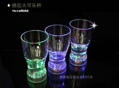 ful LED Flashing Octagon Cup LED Light Cup Glass Cup Glass Beer Mug Glowing Led Night Light Bar Party Christmas Decoration Lamp Online with $3.68/Piece on Ok360's Store   DHgate.com