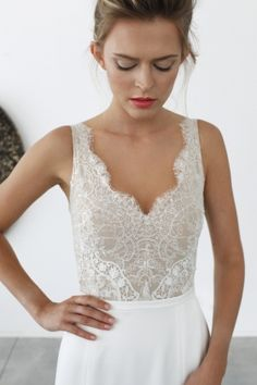 "Stunning Limor Rosen wedding dress - Find ""Ariel"" Exclusively at our store http://www.luellasboudoir.co.uk @Luellasboudoir"