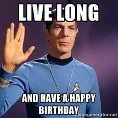 Star Trek and Spock New Year and Winter Solstice New Year Wishes Funny, New Year Meme, Star Trek Christmas, Christmas Humor, Funny Christmas Memes, Green Christmas, Christmas Stuff, Christmas Ideas, Funny Christmas Pictures