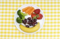 Serving Sizes for 18 Fruits and Vegetables