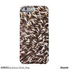 ハリネズミ iPhone 6 ベアリーゼアケース