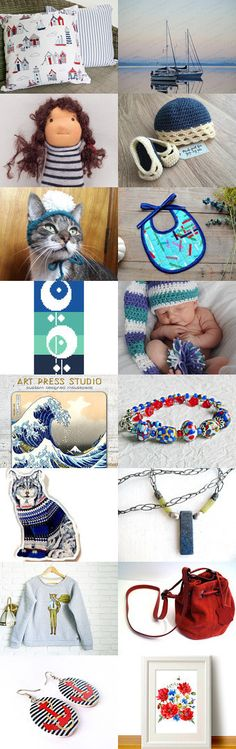 Sailing by Kate on Etsy--Pinned+with+TreasuryPin.com