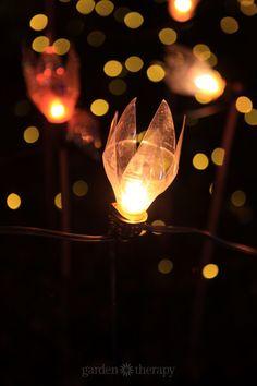 Outdoor Lighting Aspiring Led Solar Lantern Garden Deco Rattan Optic Black Solar Lamps