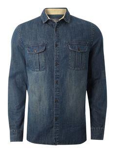 Linea Denim long sleeve shirt