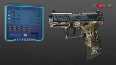 Walther P22Q Kryptek Schreckschusspistole Kal. 9mm  #shootclub #schreckschuss #Pistol #p22q