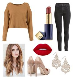 """""""Untitled #14"""" by maggierose07 ❤ liked on Polyvore featuring INC International Concepts, H&M, Rupert Sanderson and Estée Lauder"""