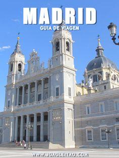MADRID Espanha: Guia de roteiros, Dicas de viagem, O que visitar, Monumentos, Alojamento, Transportes, Mapas, Fotos Madrid cidade.