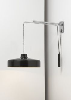 Gino Sarfatti wall lamp No.194/N Black for Arteluce, 1950