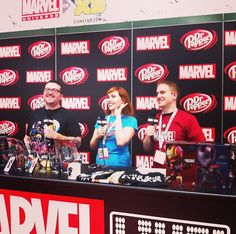 Tune in to #MarvelLIVE NOW at marvel.com/sdcc2013! Sponsored by Dr Pepper.