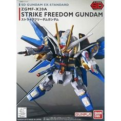 BANDAI 204934 EX-Std Strike Freedom Gundam Seed Destiny SD