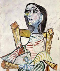 Pablo Picasso · Portrait of a Woman · 1938