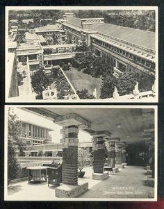 The Imperial Hotel, Tokyo, 1923, Frank Lloyd Wright