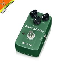 (28.55$)  Buy here - http://ai5qc.worlditems.win/all/product.php?id=32225401693 - JOYO Analog Delay Guitar Effect Pedal digital delay stompbox with time mix repeat knob mild and mellow circuit delay True Bypass