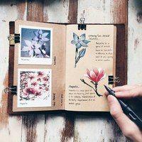 Как оформить свой личный дневник| ЛД | ВКонтакте Scrapbooks, Wild Flowers, Book Art, Photo Wall, Instagram Images, The Incredibles, Photo And Video, Pictures, Photos