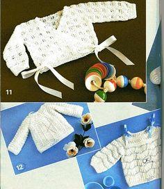 Tricotando carinho: Casaquinho Daphne